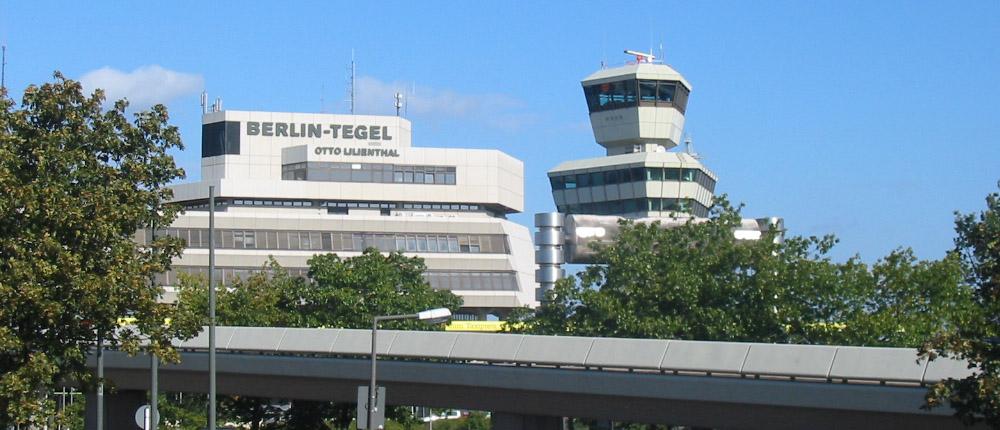 Flughafen informationen airport berlin tegel txl for Tegel flughafen anfahrt