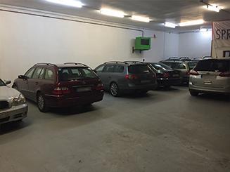 Hallenparkplatz Parkterminal-A13
