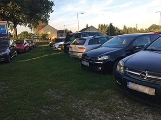 Außenparkplatz Parkterminal-A13