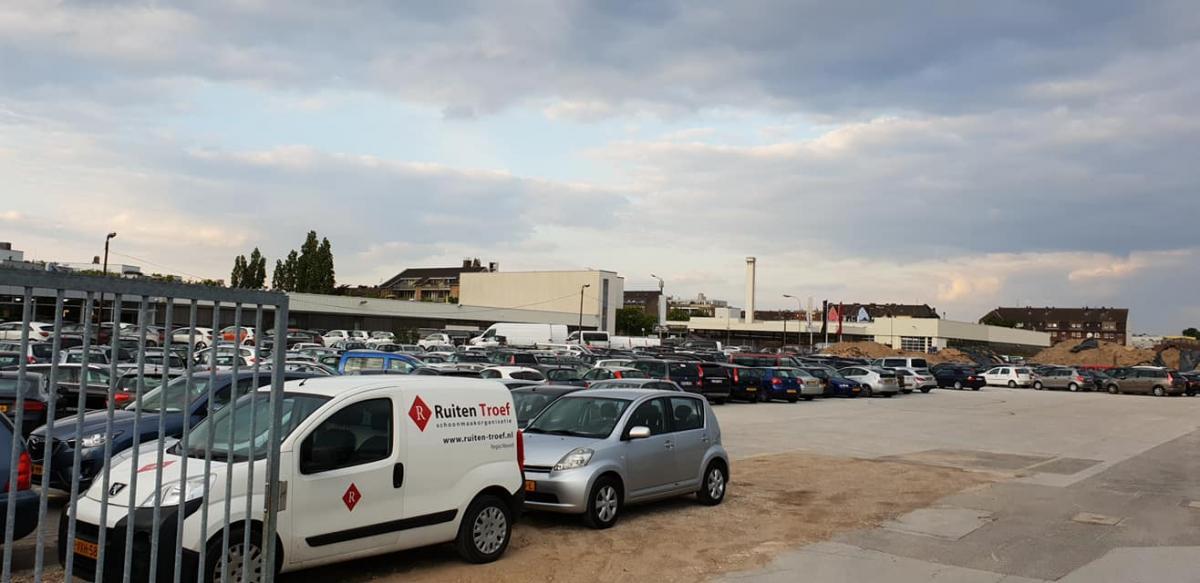 Außenparkplatz Airportparkservice Neuss