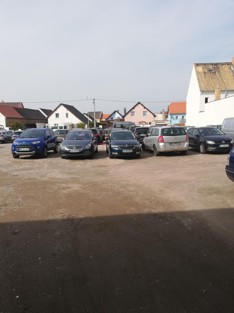 Außenparkplatz Flughafenparkplatz Münch