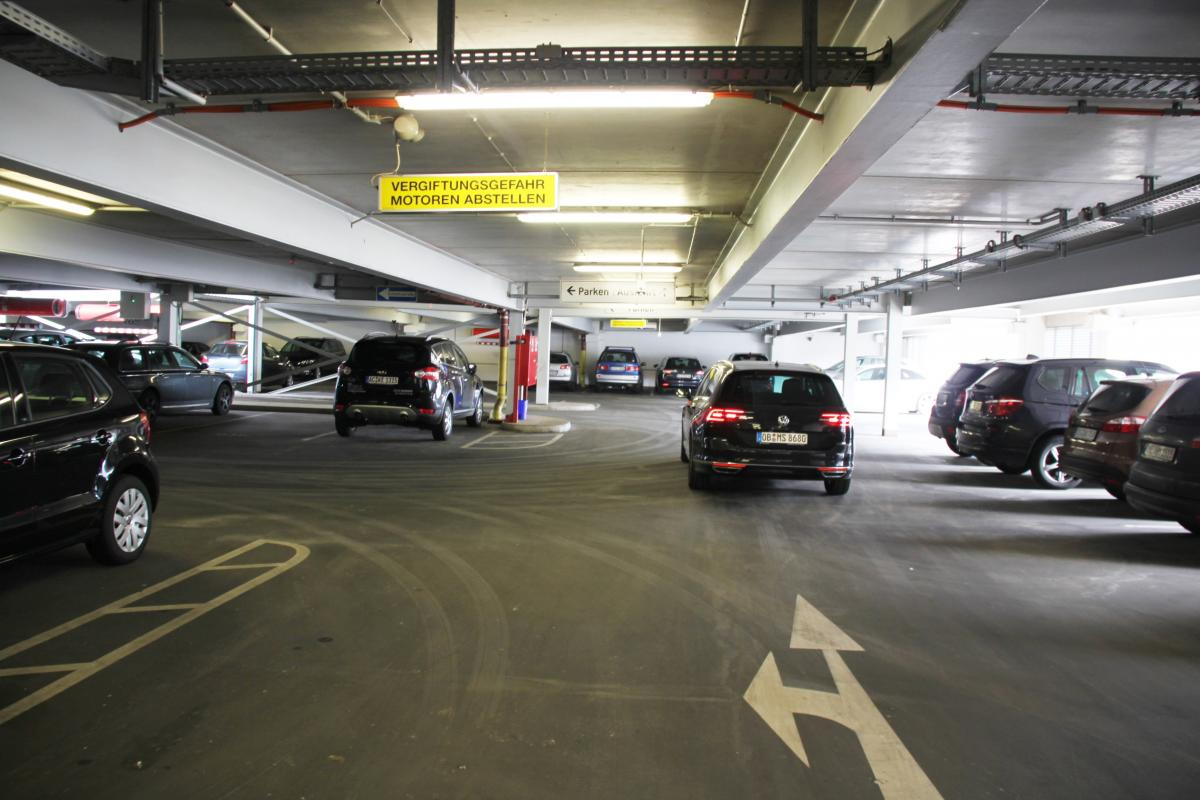 Valet-Parking Relaxpark Parkhaus - Valet