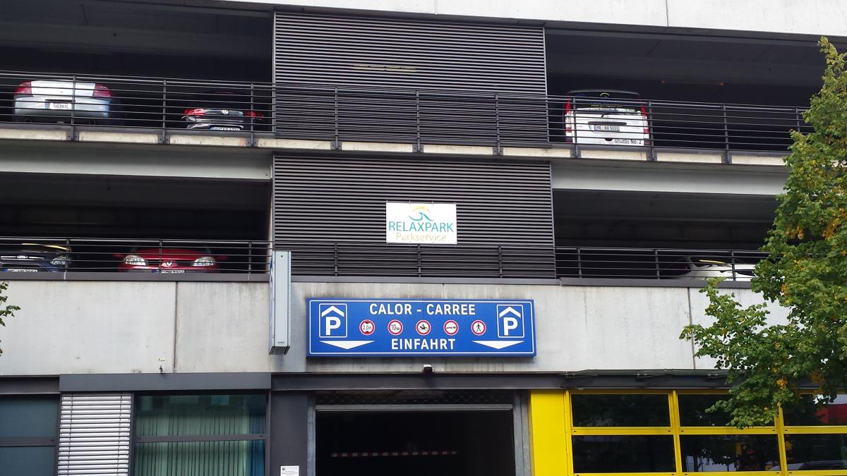 Parkhaus Relaxpark Parkhaus