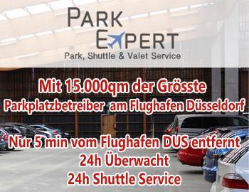 Außenparkplatz Park Expert Düsseldorf