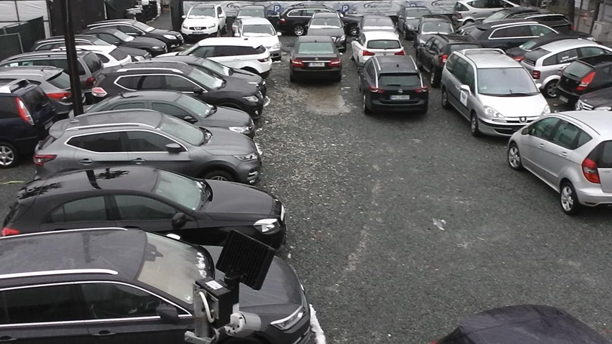 Außenparkplatz parkparadies