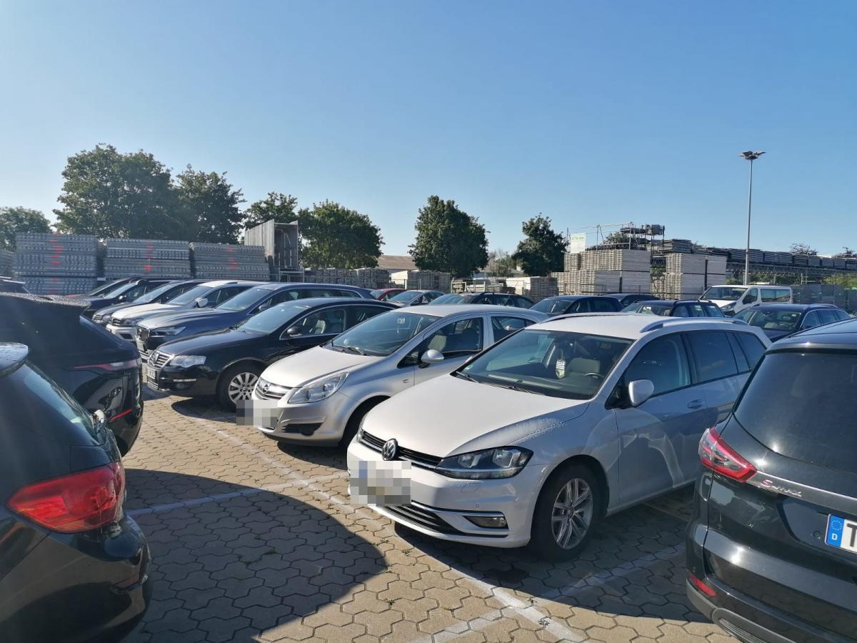 Außenparkplatz MyParkPoint