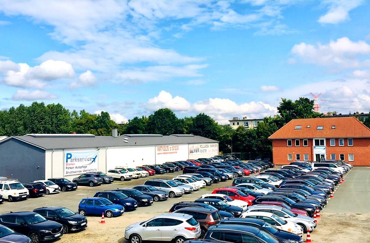 Außenparkplatz Parkservice Bremen