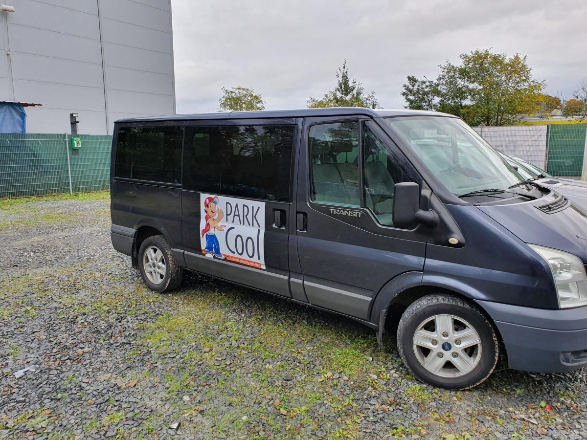 Außenparkplatz ParkCool Shuttle Service