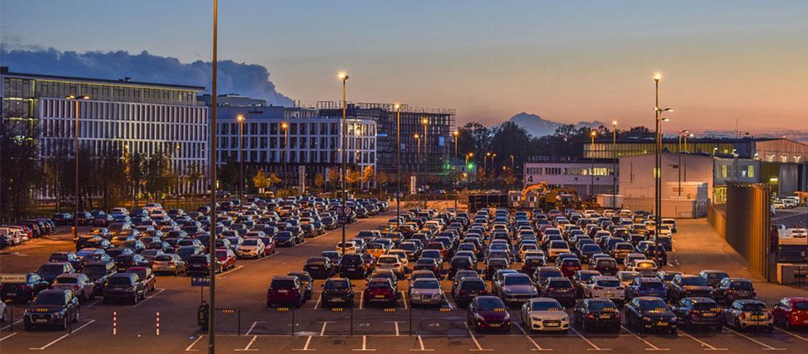 Außenparkplatz Parkplatz